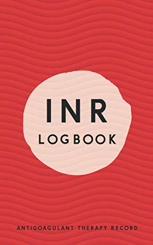 INR LOGBOOK Antigoagulant Therapy Record: Up to 2 Years of daily recording INR readings and dose