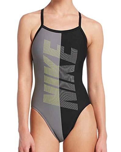 Swim Damen Sportbadeanzug Nike Rift schwarz M/38
