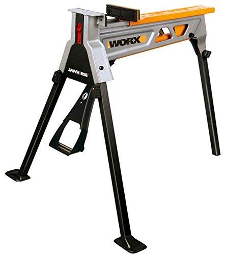 Worx WX060.1 Jawhorse, tragbar aufspannung Werkbank Workstation mit Werkzeugablage