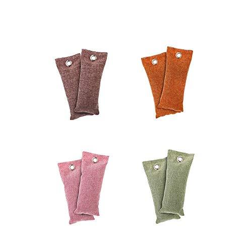 nobrand Schuhdeo Natürliche Luftreinigungs Tasche Bambuskohle Taschen Schuh Geruch Eliminator Wiederverwendbare Luftreiniger Schuhauto Küche Lufterfrischer JFCUICAN (Color : 8pcs, Size : Kostenlos)
