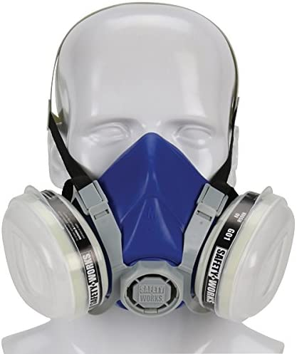 Safety Attention brand Recommendation Works SWX00318 Paint N Half-Mask Pesticide Respirator