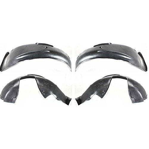 Fender Liner for 97-2000 BMW 528i 2001-2003 530i Front Left & Right Set of 2
