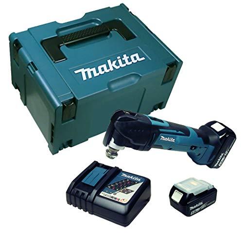Makita DTM 51 Akku Multifunktionswerkzeug mit 2 x Akku 5 Ah + Ladegerät im Makpac