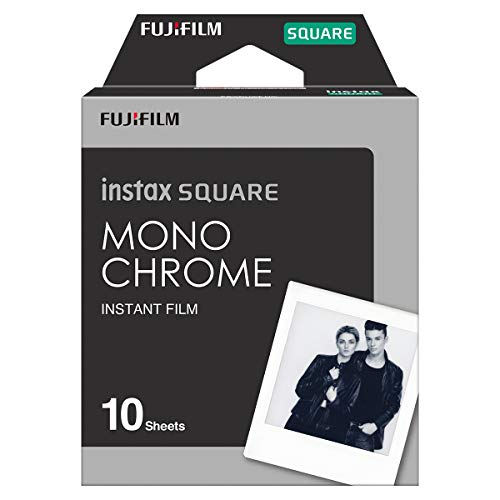 Instax Square Film Monochrome, 10 Films