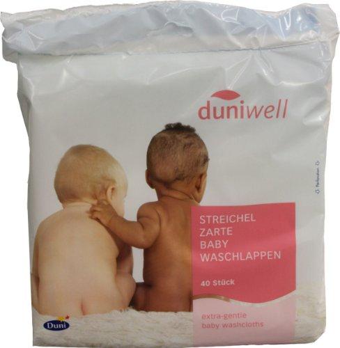 Duniwell Babywaschlappen Streichelzarte 40 St