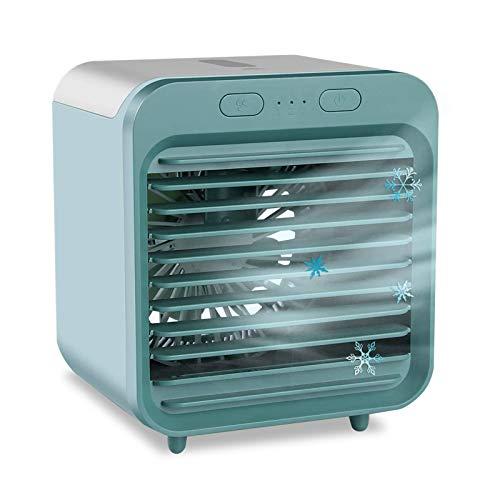 Refrigeratore Portatile 2500mAh Ricaricabile usb Ventilatore Mini Climatizzatore per Ufficio Campeggio a Casa Camera da Letto