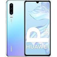 "Huawei P30 - Smartphone de 6.1"" (Kirin 980 Octa-Core de 2.6GHz, RAM de 6 GB, Memoria interna de 128 GB, cámara de 40 MP, Android) Color Nácar [Versión española]"