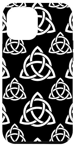 iPhone 12 Pro Max Triquetra Trinity Symbol Irish Celtic Knot Cheeky Witch Case