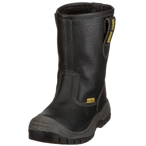Safety Jogger BESTBOOT, Unisex - Erwachsene Arbeits & Sicherheitsschuhe S3, Schwarz (Black), 45 EU