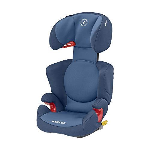 Maxi-Cosi Rodi XP FIX-Kindersitz, ISOFIX Booster-Sitzerhöhung, 3,5 - 12 Jahre, 15 - 36 kg, Basic Blue (blau)