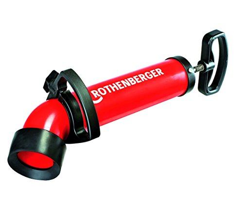 Rothenberger Ropump Super Plus Saug-Druckreiniger (hohe Saug- und Druckkraft, langer Adapter für Toiletten) 072070X