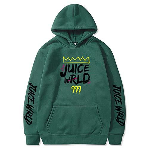Rundhals-Sweatshirt für Männer Rapper Juice Wrld Cropped Hoodie Boys7-8 Jahre Damen Sweatshirt Shirt S.