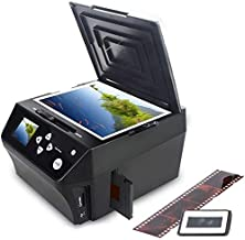 22MP Film &Slide Photo Multi-Function Scanner, Converts 135Film/35mm,110Film/16mmNegatives/Slide/Photo/Document/Business Card to HD 22MP Digital JPG Files, 8GB Memory Card Included