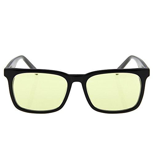 Jimmy Oranje Blauw Licht Blokkeren Computer Bril voor Computer Gaming & Nachtzicht Rijden Behandelen Droge Ogen Met Een Beter Slapen Jo309bk-carl Zeiss Lens