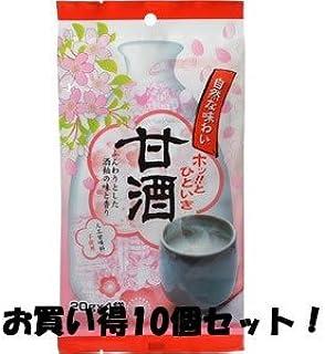 (今岡製菓)甘酒 20g×4袋(お買い得10個セット)