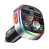 Best Fm Transmitters - VicTsing Bluetooth FM Transmitter for Car, USB C Review