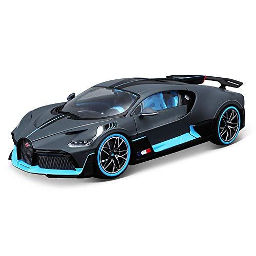 Bugatti Divo Modellauto aus Metall, Maßstab 1:18, Druckguss-Auto für Sammlerstücke für Erwachsene, 24,1 x 10,8 x 5,1 cm
