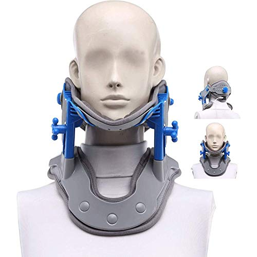 AILZNN Neck Traction Device Supports Cervical To Relieve Pain, Neck Collar Correction Repair Physiotherapy Spine Massager For Neck & Shoulder Pain Relief