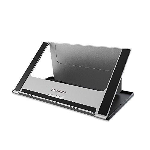 HUION Soporte de Escritorio Plegable Ajustable GT-156 HD V2 KAMVAS Pro 16/KAMVAS 16, Monitor de Tableta de Dibujo de gráficos iPad/Macbook/Tablet PC