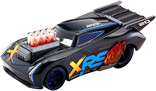 Disney Cars GFV36 - XRS Xtreme Racing Serie Dragster Rennen Die-Cast Spielzeugauto Jackson Storm, Spielzeug ab 3 Jahren