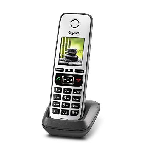 Gigaset Family - DECT-Telefon schnurlos für Router - Fritzbox, Speedport kompatibel - großes Farbdisplay, anthrazit-grau