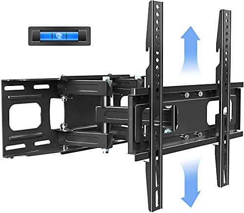 KDG Full Motion TV Wall Mount with Height Setting, TV Mount Bracket for...