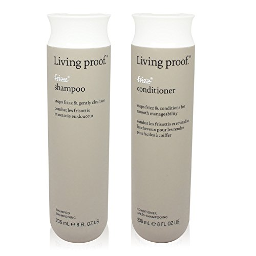 Living Proof No Frizz Shampoo & Conditioner 8 oz by Living Proof