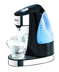 Breville VKJ791X Hot Cup Wasserspender, Kunststoff, Schwarz, Transparent