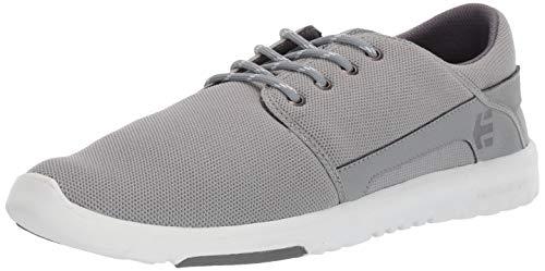 Etnies Men's Scout Skate Shoe, Grey/White/Silver, 13 Medium US