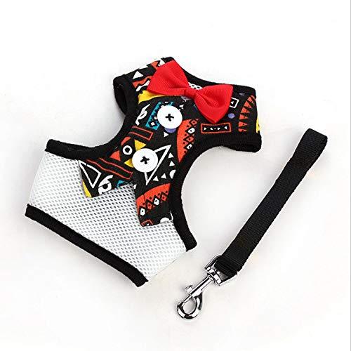 Hundegeschirr, Komfort und Kontrolle Hundegeschirr No Pull & No Choke Design Haustierkleid Hundegeschirr,Indian,L