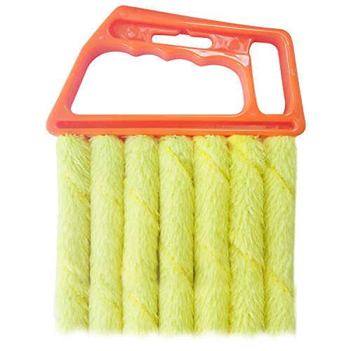 Bagvhandbagro Blind Cleaner Tool, Mini Hand-held Cleaner,Mini-Blind Cleaner,Dirt Clean Cleaner,Venetian Blind Brush Window Air Conditioner Duster Cleaner