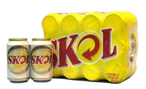 SKOL Bier 12 x Dose Cerveja do Brasil