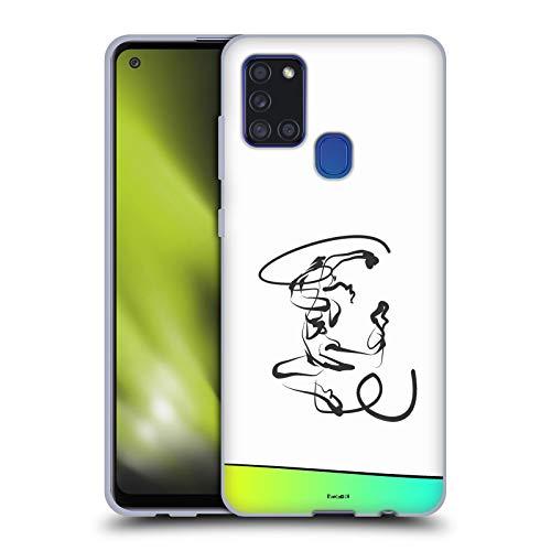 Head Case Designs Licenciado Oficialmente Zelko Radic Bfvrp Baile gimnástico Surtido Carcasa de Gel de Silicona Compatible con Samsung Galaxy A21s (2020)