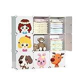 Teapots Kinderkleiderschrank Baby-Kleidungsschrank Babyaufbewahrung Schrank Schublade einfache...