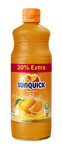 Sunquick Fruchtkonzentrat, Orange 6 Flaschen, 6er Pack (6 x 840 ml)