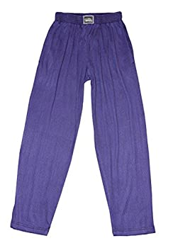 Classic Super Soft Santa Cruz Design Relaxed Fit Baggy Workout Pants for Men and Women Purple/Black