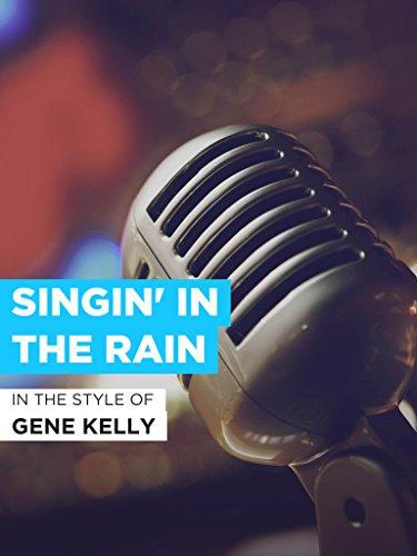 """Singin' In The Rain im Stil von """"Gene Kelly"""""""