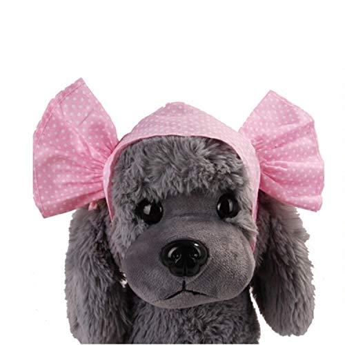 Haustier Pet Supplies Kreative Katze Hund Süßigkeiten Farbe Lustige Tidy Props Stirnband mit Kapuze Hut (Blauer Punkt) (Color : Pink Dot)
