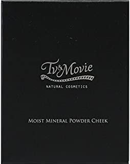 【TV&MOVIE(ティビーアンドムービー)  】モイストミネラル パウダーチーク 5g (01エレガントピンク)