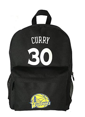 Forever Inc Curry #30 Basketball Backpack Premium Unique Curry 30 School Bag for Steph Basketball Fans (Curry #30 Black)
