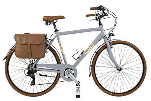 Canellini Via Veneto By Bicicletta Bici Citybike CTB Uomo Vintage Retro Dolce Vita Alluminio Grigio (58)