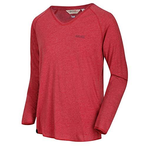 Regatta Pull Manches Longues en Coton Kiro avec col en V T-Shirts/Polos/Vests Homme Delhi Red FR: 2XL (Taille Fabricant: XXL)