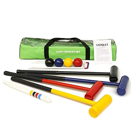 Urban Lawn Croquet [Set] • 4 Player • JUNIOR size