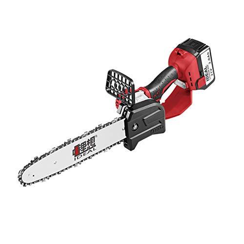 Mini sierra eléctrica de 8 pulgadas / 10 pulgadas,sierra de podar eléctrica inalámbrica con una mano,sierra de carpintería recargable con batería de litio portátil,para cortar ramas de jardín y made