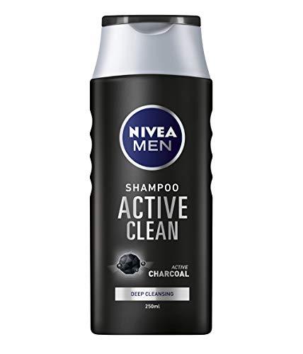 NIVEA Men - Active Clean - Champú de carbón activado para