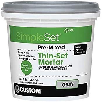 SimpleSet Pre-Mixed Thin-Set Mortar 1 QT