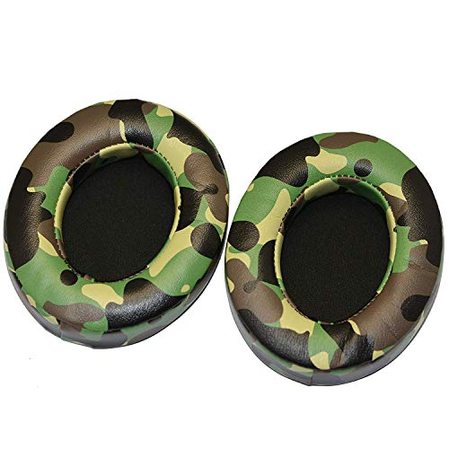 Bestdealing Camo Green Replacement Ear Pads, Earpads for Beats Studio 2.0 Wired/Wireless Headphones and 3.0 Wireless Headphones, Beats Studio 2/3 Ear Cushion (Not fit Solo2)