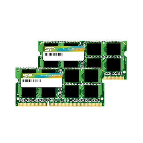 Silicon Power DDR3 8GB KIT(2x4GB) 1.5V SODIMM Memory Compatible for Apple 1333MHz PC3-10600 for Early/Late 2011 13/15/17 inch MacBook Pro, Mid 2010 Mid/Late 2011 21.5/27 inch iMac, Mid 2011 Mac Mini