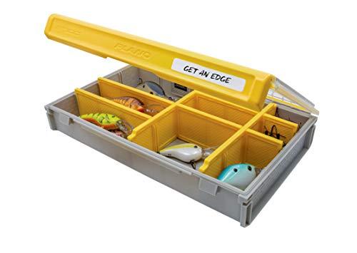 Plano Unisex-Erwachsene Edge Flex 3700M Tackle Storage Box, Gelb/Grau