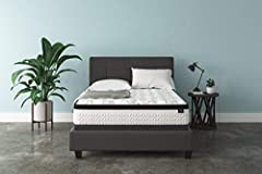 Queen size bed in a box: For supportive, dreamy sleeping, this mattress brings it home with comfortable layers; Plus, it comes in a box, so it's easier than ever to get a better night's rest Hybrid mattress: Mattress is designed with gel memory foam,...